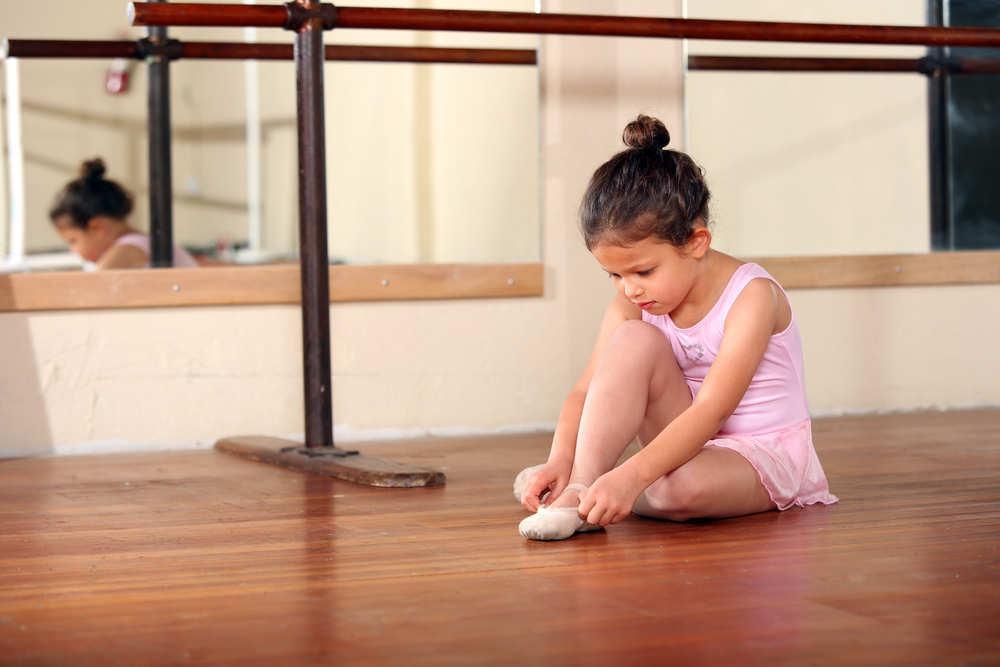 Un buen calzado para futuras bailarinas