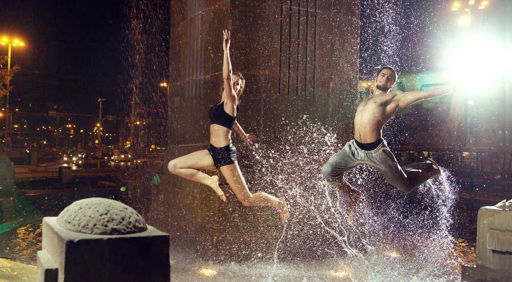 Espectáculo de danzas percusivas y urbanas en Barcelona